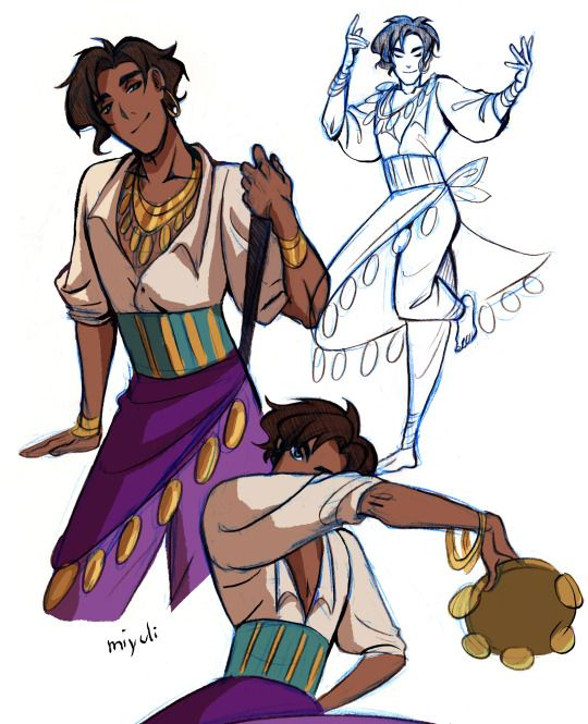 male Esmeralda, by Miyuli (Julia K.)