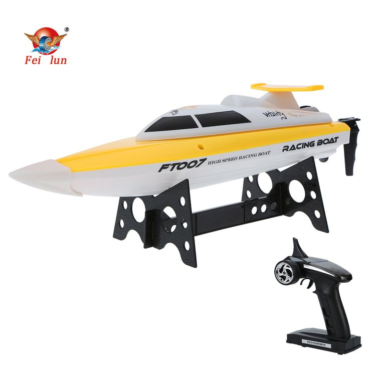 High Quality FEI LUN FT007 2.4G 4CH 20km/h High Speed Wireless Radio Control RC Professional Racing Boat with EU plug Changer //Price: $70.72     #instagood