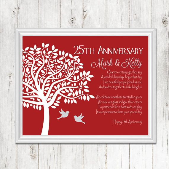 Gift Ideas For Parents 25th Wedding Anniversary: 1000+ Ideas About Parents Anniversary Gifts On Pinterest
