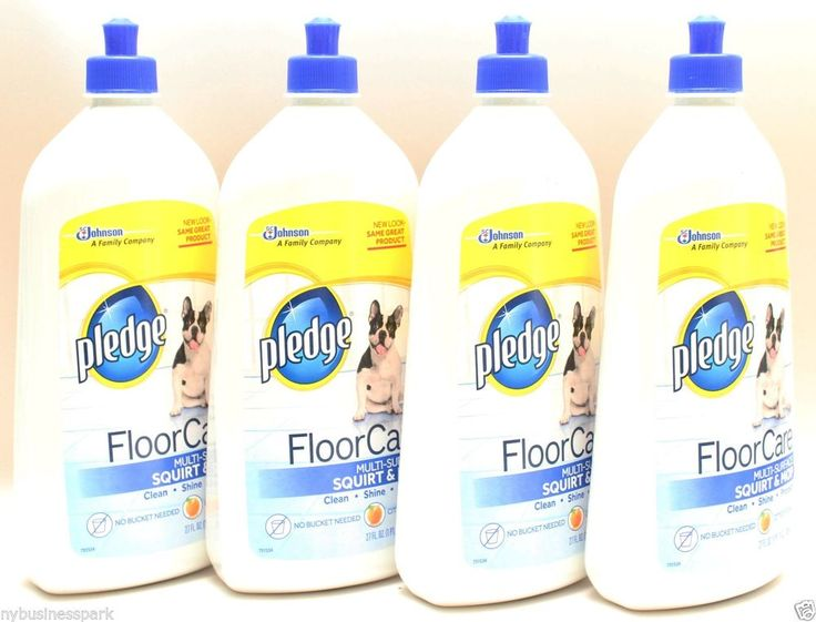 4 Pledge Floor Care Multi-surface Squirt & Mop Clean Shine Protect 27 oz. each ❤ #FloorCareMultisurface