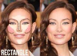 Rectangle Face Shape