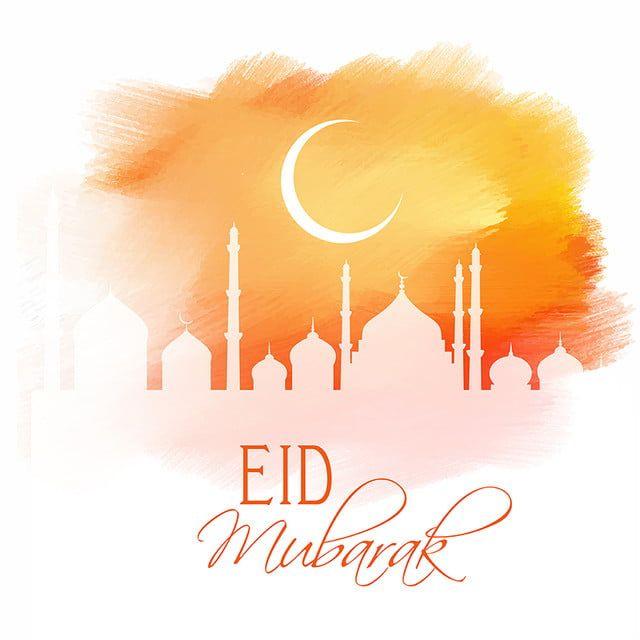 تصميم عيد مبارك على الملمس المائي 1606 خلفية ورق الجدران احتفال Png والمتجهات للتحميل مجانا Eid Mubarak Background Watercolor Texture Eid