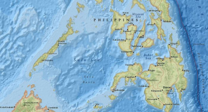Terremoto de magnitude 58 atinge as Filipinas
