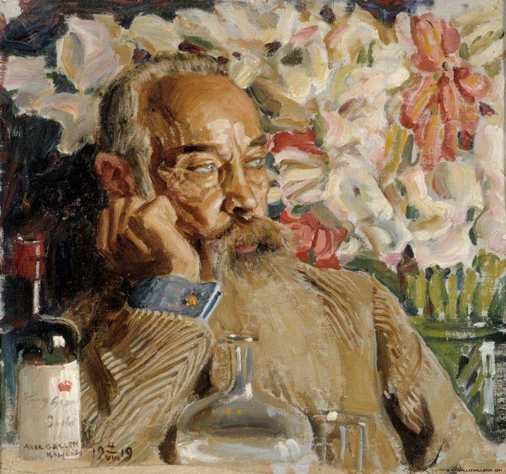 Akseli Gallen-Kallela, Portrait of Sigurd Wettenhovi-Aspa, 1919, Oil on canvas, 29 x 31,5 cm, Finnish National Gallery, Helsinki