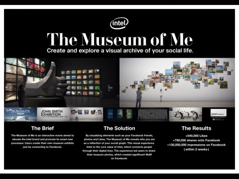 THE MUSEUM OF ME | Promo & Activation Lions BRONZE | Winners & Shortlists | Cannes Lions International Festival of Creativity