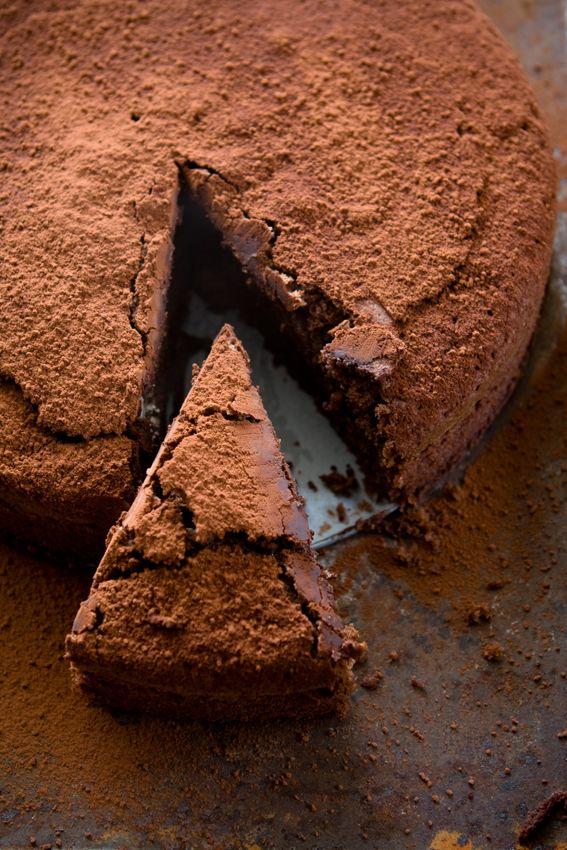 Nigel Slater's Chocolate Espresso Cake - Food & Lifestyle Blog by Brighton Food Photographer Heather Wilkinson.