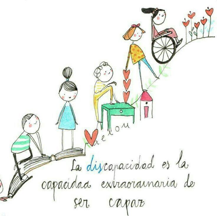 Definición De Discapacidade Citas De Educación Frases