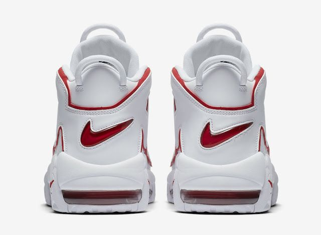 e20a299563be First Look  Nike Air More Uptempo  96 White Varsity Red