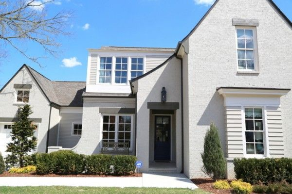 Sherwin williams body of the home is amazing gray sw 7044 in satin finish the exterior trim - Exterior white trim paint pict ...