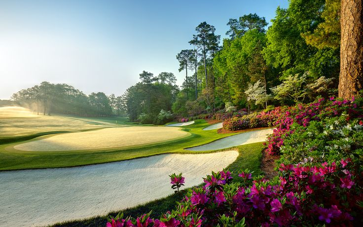 The Masters at Augusta National in Augusta, GA