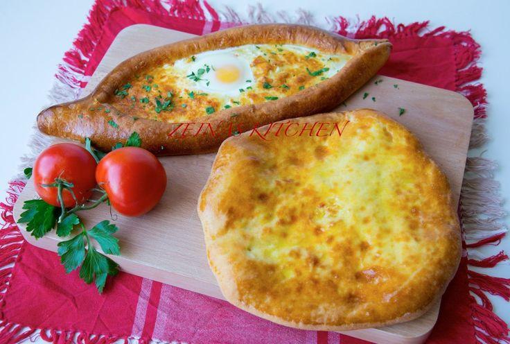 Khachapuri- Georgiskt ostbröd - ZEINAS KITCHEN