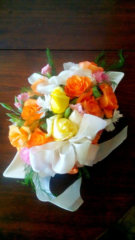 Dekorace aranžmá s květin
