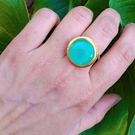 Hey, I found this really awesome Etsy listing at https://www.etsy.com/listing/269914037/round-ring-gold-ring-statement-ring
