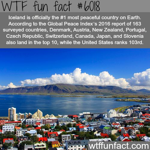 The top 10 most peaceful countries - WTF fun facts