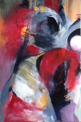 Isabel Zampino Kunst Diverse Gefühle Situationen Moderne Expressionismus Neo-Expressionismus
