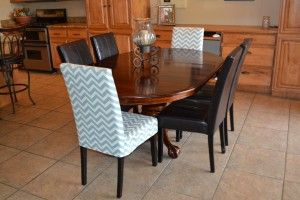 Dining chair slipcover pattern - very easy!
