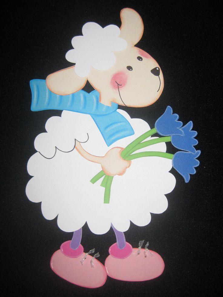 """Fensterbild aus Tonkarton """"Schäfchen"""" Ostern Frühling FOR SALE • EUR 6,00 • See Photos! Money Back Guarantee. Fensterbild aus Tonkarton """"Schäfchen"""" Höhe ca. 32cm Breite ca. 20cm Beidseitig gearbeitet. Liebevoll coloriert. Schauen Sie sich auch meine anderen Auktion an. Versand erfolgt immer nur Freitags. Privatverkauf: Keine Garantie, 132126958973"""