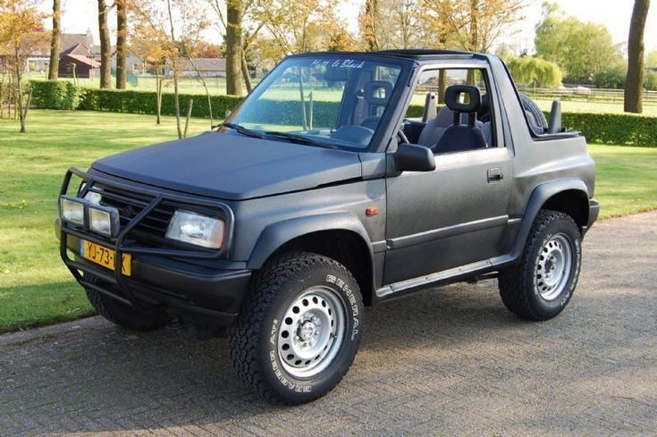 Suzuki Vitara - 1.6i JLX CABRIOTOP - 1992 - Benzine - www.garantie-garage.nl