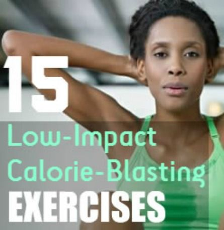 Low-Impact doesn't have to mean low-calorie burn. These easy-on-the joints exercises are intense enough to burn up to 600 calories in 30 minutes! | via @SparkPeople #fitness #cardio #workout #health