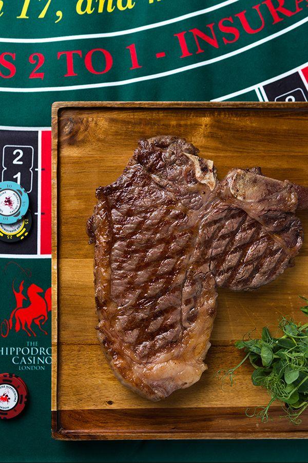 Bad to the T-Bone. #Heliot #Steak