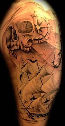 Seefahrer Tattoo
