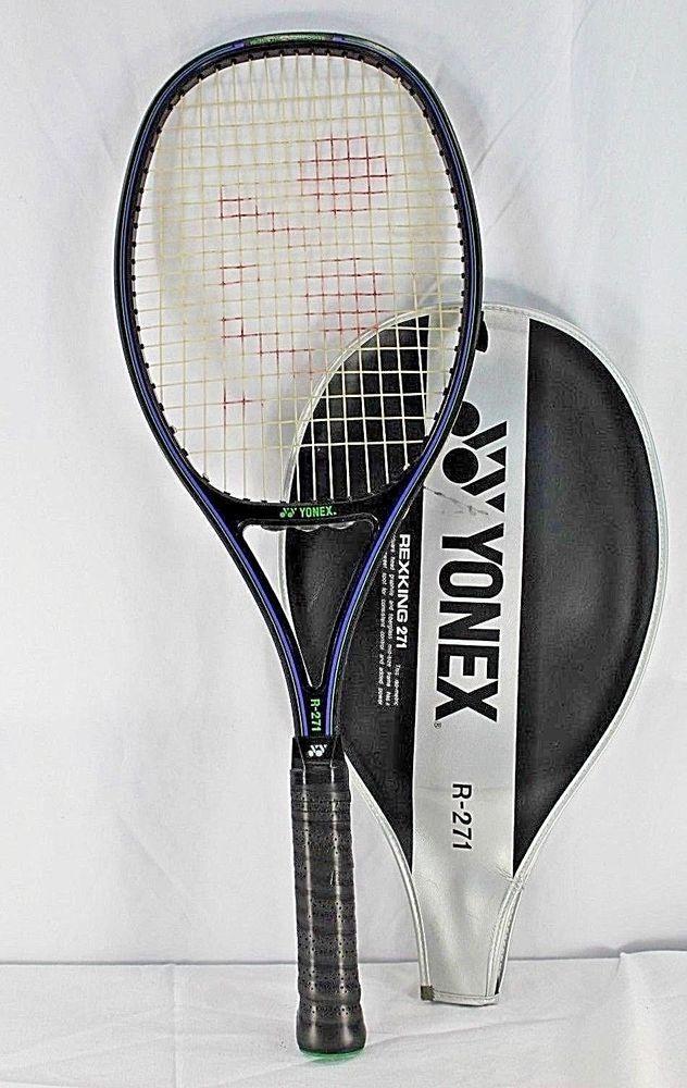 Yonex Rex King 271 Graphite Tennis Racquet Grip 4 5 8 Sporting Goods Tennis Racquet Sports Tennis Ebay Tennis Yonex Tennis Racquets