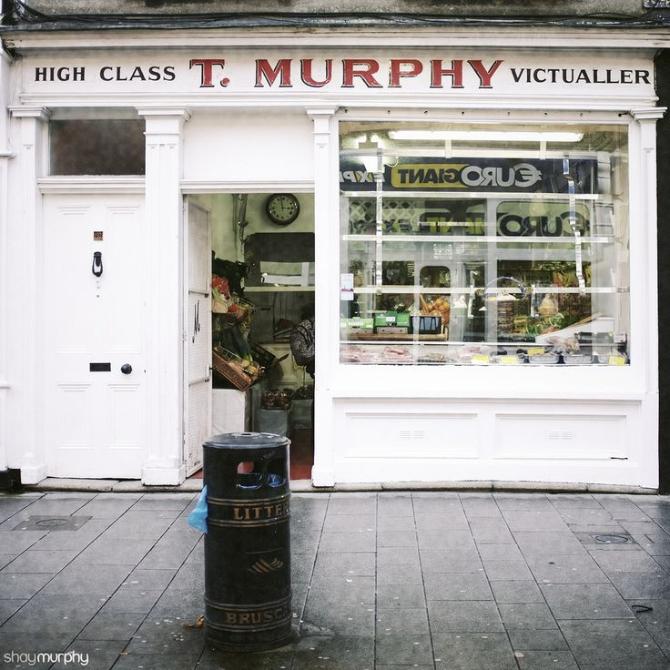 One of the last old school shops left Dun Laoghaire, lots of cheap tack ones like the one reflected in the window.