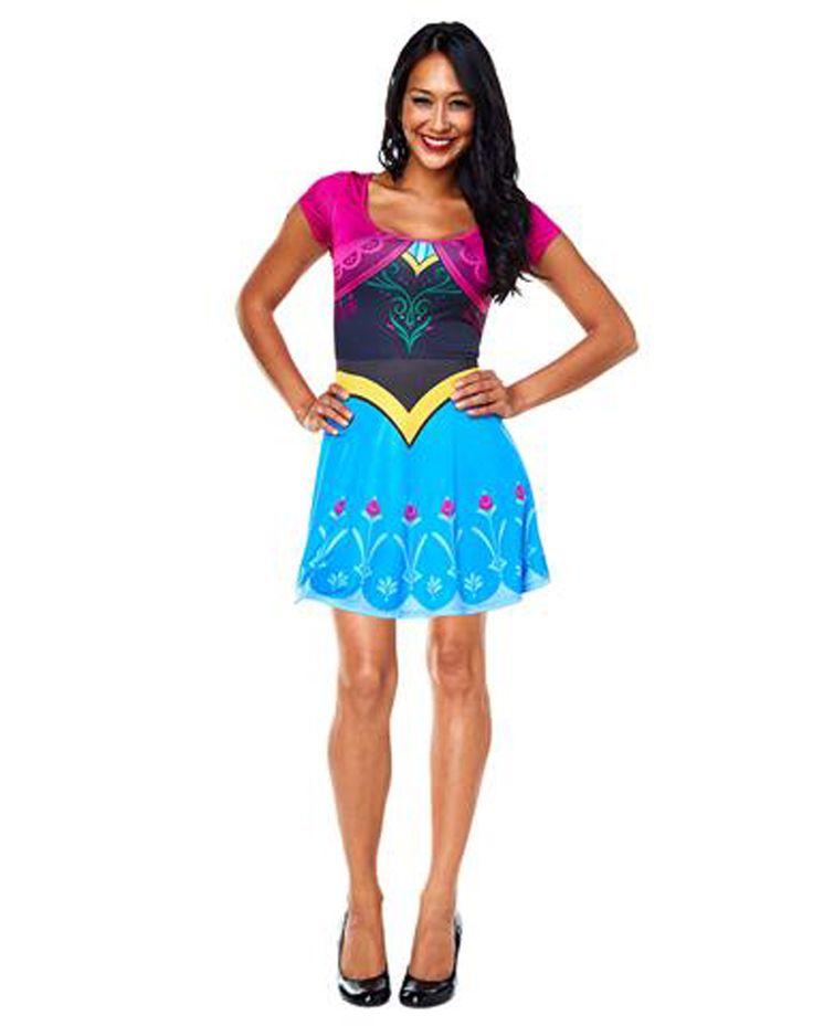 anna dress adult costume frozen - Halloween Anna Costume