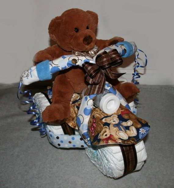 Free Airplane Diaper Cake Instructions