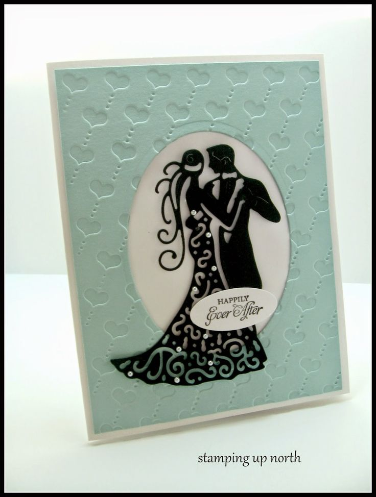 Lace Card Making Ideas Part - 43: Stamping Up North,tattered Lace, Wedding Card