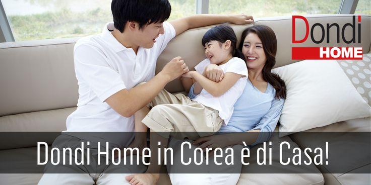 Da oggi, la Corea del Sud, apre le porte allo stile italiano e i primi divani firmati Dondi Home diventano protagonisti di nuovi riti quotidiani!