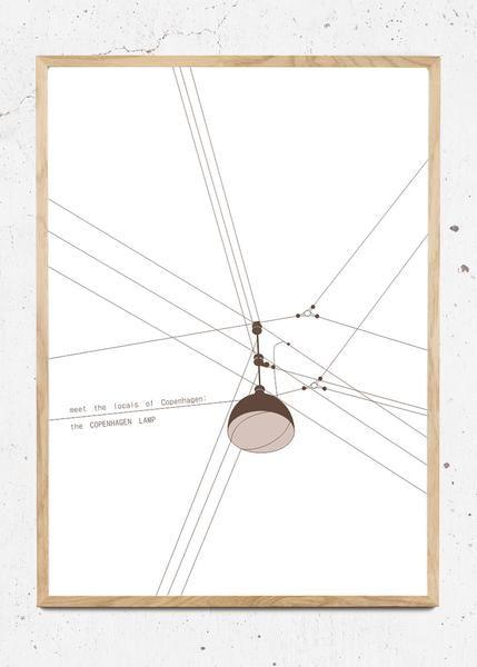 MTLOC: Copenhagen Lamp fra Hamide Design Studio
