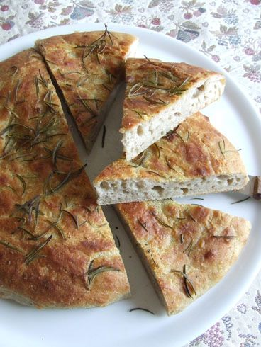 stella di sale | Focaccia di castagne, patate e rosmarino