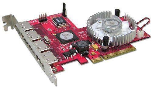 LINDY 4 Port SATA II Card RAID 5 Function PCI-Express x8 (51133)