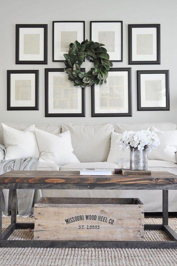 48 inspiring modern farmhouse style decoration ideas for your living rh pinterest com