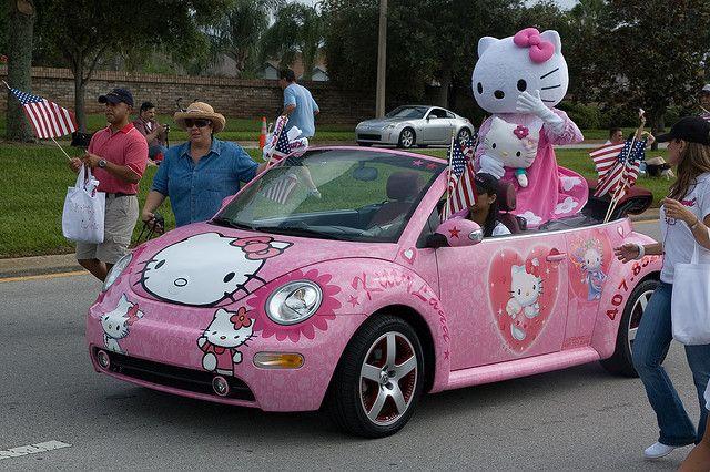 25+ best ideas about Hello kitty car on Pinterest   Hello ...