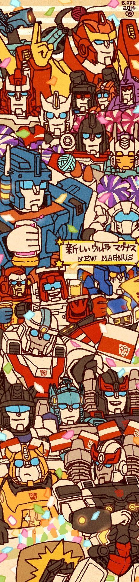 IDW Transformers