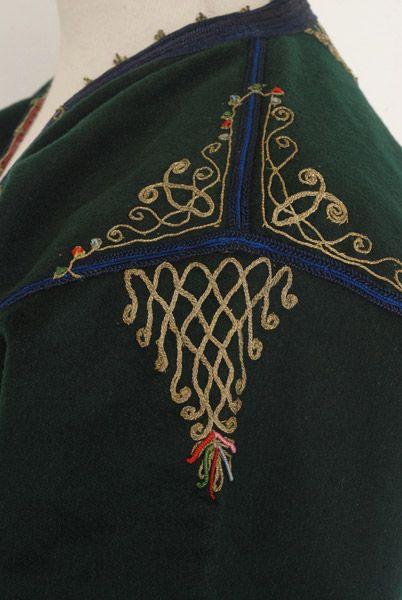 Cretan jacket embroidery detail
