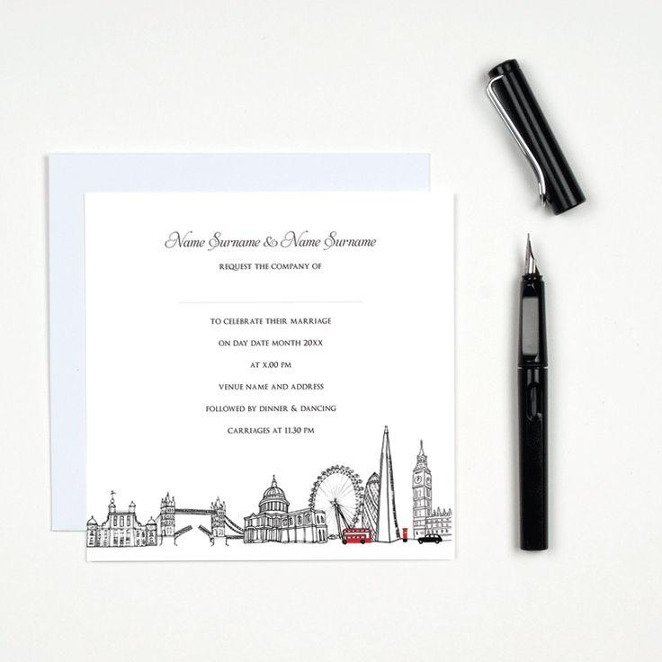 14 best Wedding stationery images on Pinterest | Wedding ...