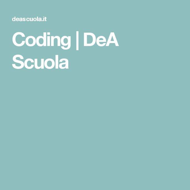 Coding   DeA Scuola