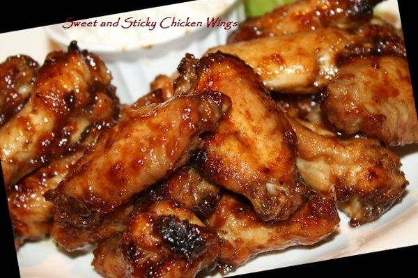 Sweet and Sticky Chicken Wings (Actifry)  Ok, I made this with bone in chicken thighs, left for about 1 hour and they are perfect!