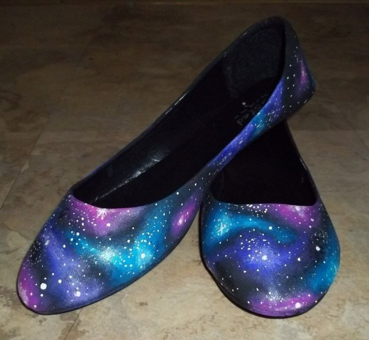 So Sorry I'm Even More Flawless Galaxy Shoes by ~poisons-sanity on deviantART