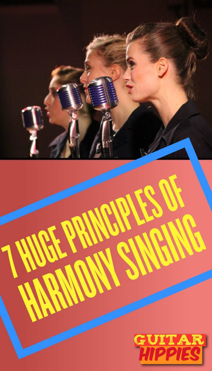 7 Useful Principles of Singing HARMONY   #guitar  GuitarHippies - Inspiring Your Musical Journeys