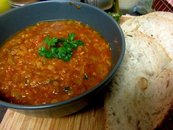 Moroccan Red Lentil Soup | Delicious | Pinterest