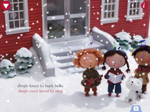 Jingle all the way hd er en sød historie, hvor du kan optage din egen optagelse, mens du læser bogen højt. Appen er gratis. Det er historien om en Husky hund. begynder og mellemtrin.