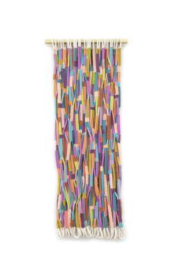 Alicia Scardetta, Friends Forever 2015, cotton wool metallic threads