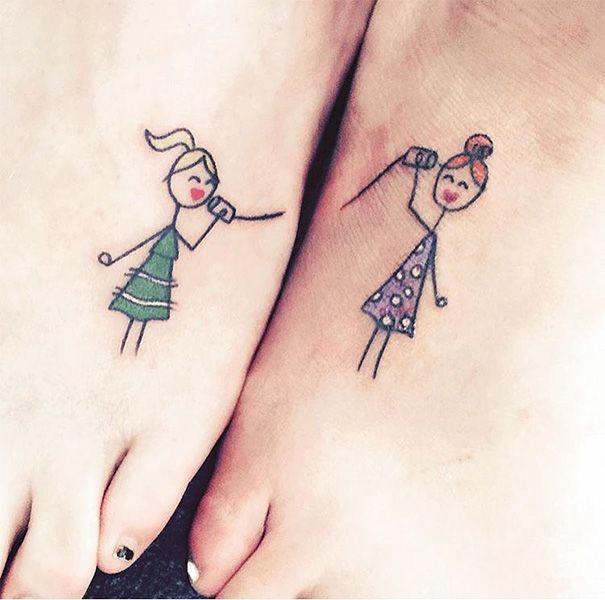 Las hermanas comparten un vínculo especial, estar juntas y tenerse por siempre. Los tatuajes para inmortalizar el lazo de amor con tu hermana