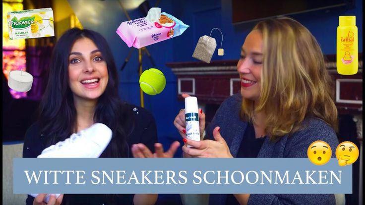 WITTE SNEAKERS SCHOONMAKEN - HANDIGE SCHOENEN TIPS - Anna Nooshin