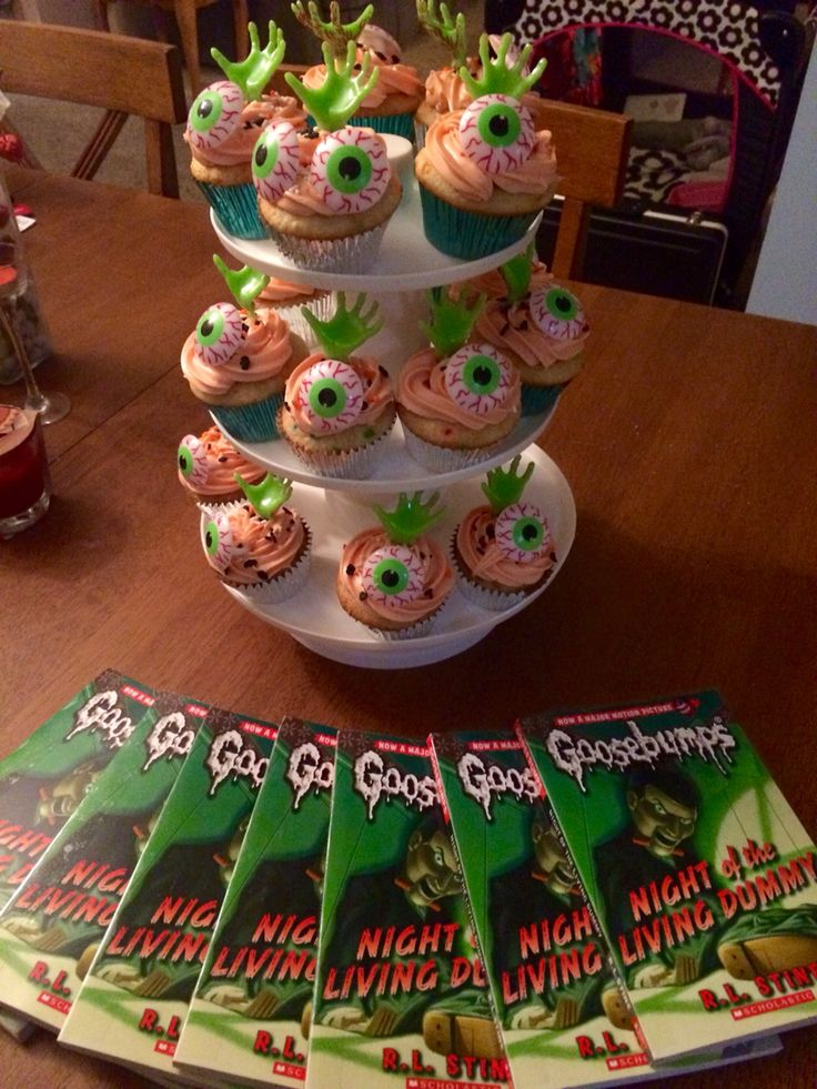 Goosebumps Series by R.L. Stine cupcakes