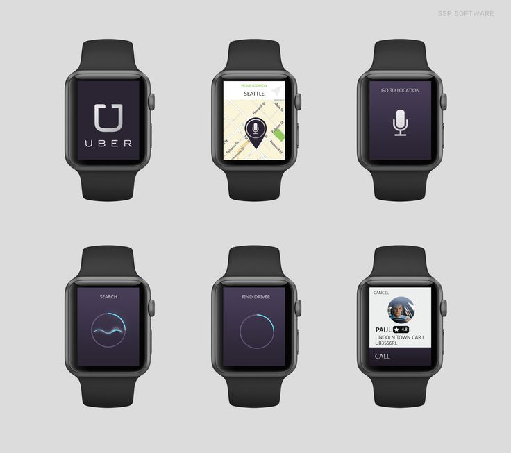 Designers mock up Apple Watch versions of popular iOS applications